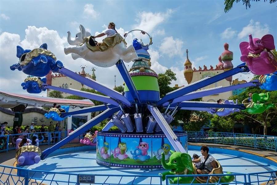 台中麗寶樂園探索世界。台中麗寶樂園提供