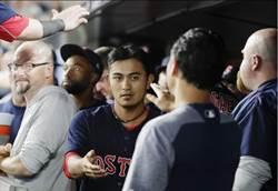 MLB》林子偉跑回致勝分 紅襪世仇主場慶封王