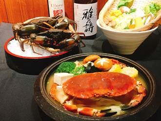 高雄飯店業推出秋蟹美食料理搶攻市場商機