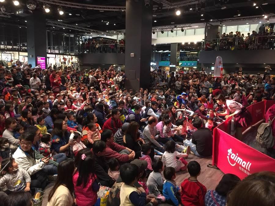 台茂購物中心預估周年慶業績整體提升。(甘嘉雯翻攝)