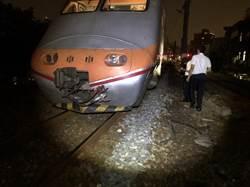 台鐵鶯歌站旅客暈倒遭自強號撞傷 影響8千人