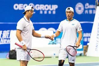 海碩男網賽》雙打決賽上演「台灣內戰」 7屆以來首見