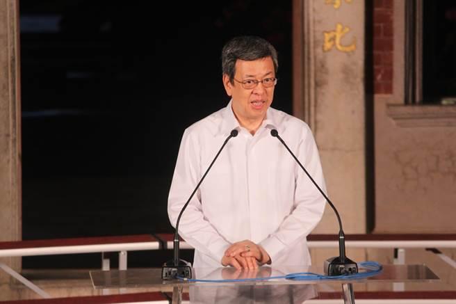 副總統陳建仁也到場參與。(莊曜聰攝)