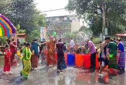 異域孤軍後裔保存雲南文化 舉辦潑水節嘗雲南美食