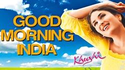 早安圖攻占手機 印度也瘋狂