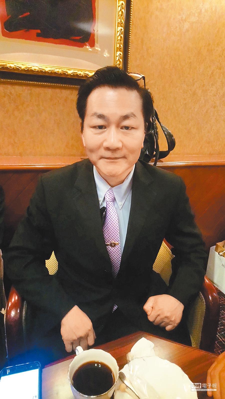 蘇州竹原科技董事長陳祖望。(記者楊家鑫攝)