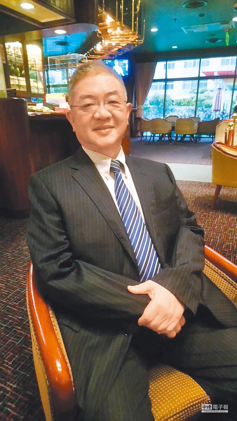 上海台協常務副會長胡興中。(記者楊家鑫攝)