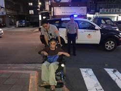 18歲輪椅少年想擔家計 外出找工作迷路暖警助返家