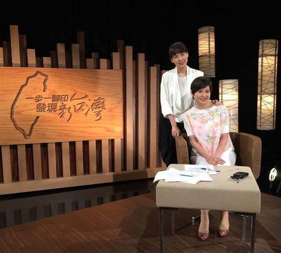 詹怡宜與妹妹詹怡嘉同時入圍金鐘。(圖片提供:TVBS)