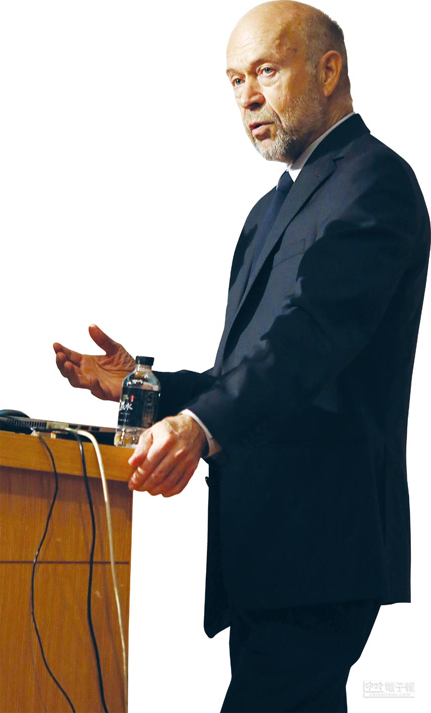 第3屆唐獎永續發展獎得獎人詹姆士‧漢森(James E. Hansen)。圖/姚志平