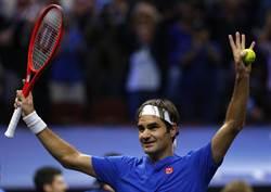 網球》39歲還拚奧運? 費德勒這麼說