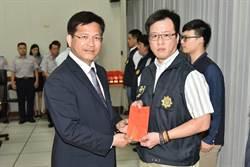 林佳龍對中市治安有信心表揚有功人員
