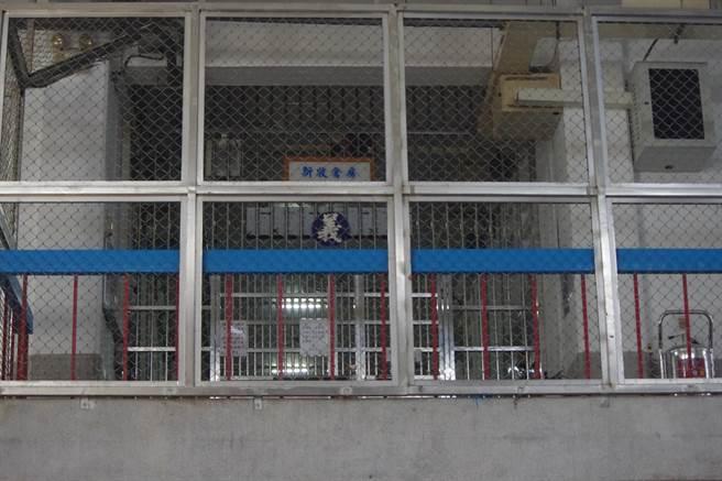 傅崐萁分發至獄內2樓收容新收受刑人的「義舍」。(許家寧攝)