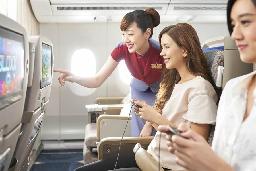 華航再度榮獲《APEX》與知名《Concur TripIt》旅遊網聯合票選《國際航空公司評鑑》「五星級最高榮譽獎」。(本報資料照片)