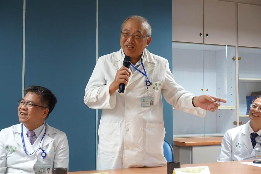 台大國際級婦癌權威醫師陳祈安進駐雲林分院,奉獻退休前時光。(周麗蘭攝)