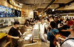 新光三越台北南西店展現食力 全台首發10店爆人潮