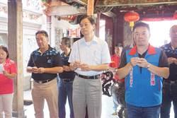 台南》高思博提經濟新政宣誓書 張善政加持