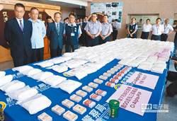 第2波「安居緝毒」專案 扣5.7公噸毒品 羈押655名毒販
