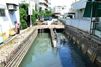 中市落實「海綿城市」 廣設雨水下水道、滯洪池