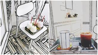 這不是錯覺!弘大「2D漫畫咖啡店」彷彿讓你走進奇幻的漫畫世界