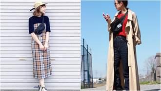 用一個包穿搭就夠!看日本女生多變的黑色腰包混搭風