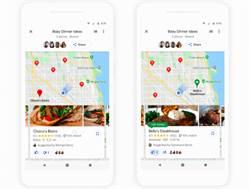 決定聚餐地點更簡單 Google Maps新功能上線
