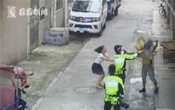 影》外賣小哥神救援  即時「接住」墜樓男嬰