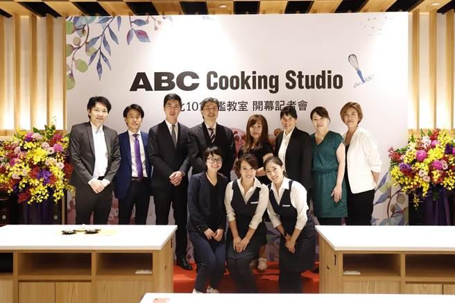 「ABC Cooking Studio台北101旗艦教室」今日盛大開幕。(圖片提供/ABC Cooking Studio)