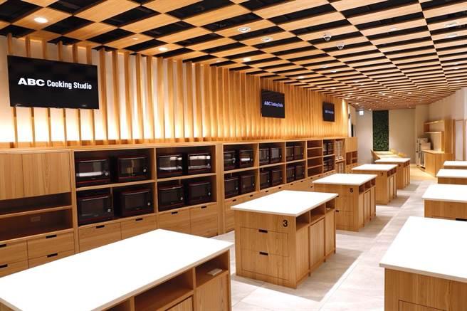 室內空間寬敞舒適,搭配齊全烹飪設備,提供學員絕佳課程體驗。(圖片提供/ABC Cooking Studio)