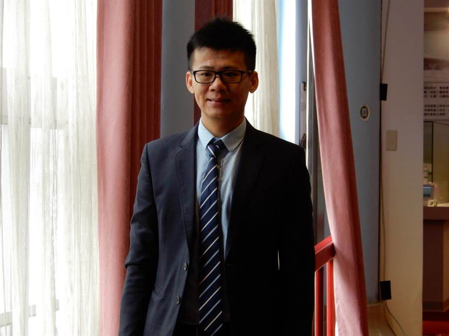 台北市木柵高工老師楊弘意,得到今年師鐸獎。(林志成攝)