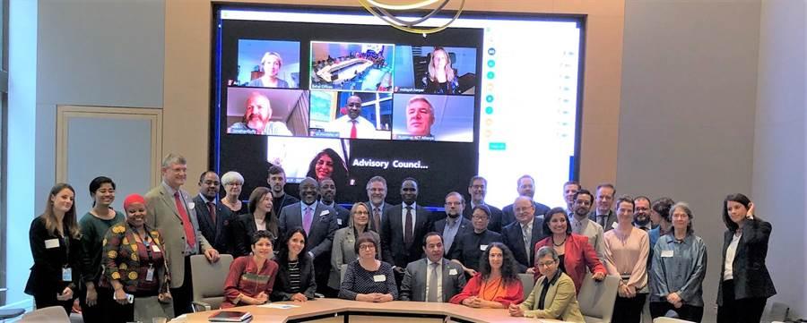 聯合國信仰組織評議會21日在美國紐約正式成立,並宣布由聯合國各部門推薦的17個聯合國信仰組織代表。(圖/聯合國人口基金會提供)