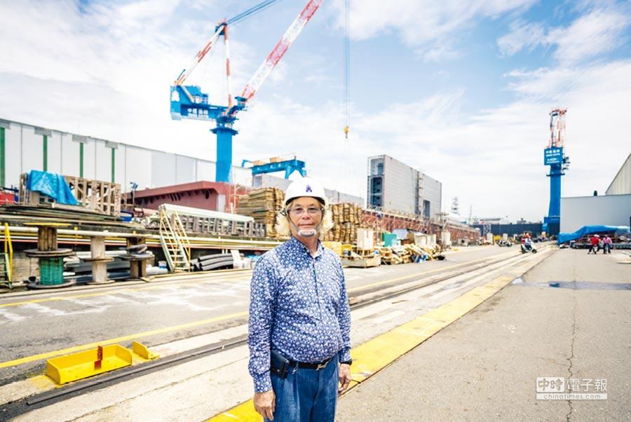 中信造船集團董事長,也是台灣區造船工業同業公會理事長韓碧祥從經營一家小造船廠到現在所帶領的民營最大中信造船集團,兢兢業業、恪遵職守,成為台灣造船業的巨擘。圖/林宜蓁