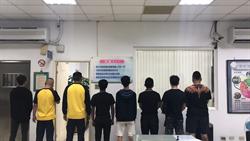 桃市高中生街頭鬥毆 警快打部隊逮8滋事者