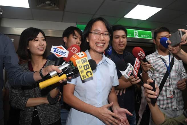 台北農產運銷公司總經理吳音寧。(資料照片/中央社)