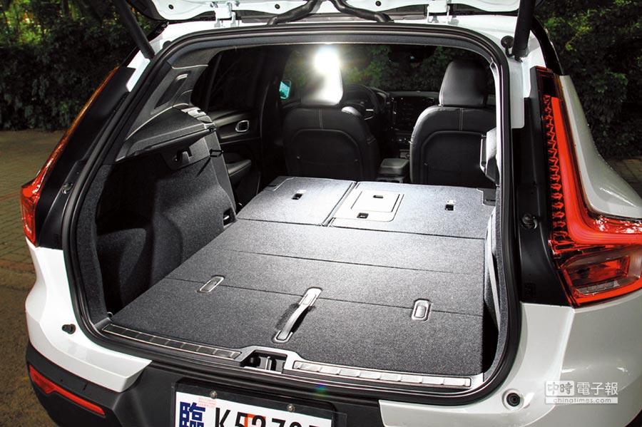 行李廂空間正常情況下為460公升,如座椅傾倒後可擴增至1,336公升之多。圖/業者提供