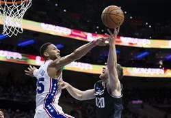 NBA》新球季熱身賽開打 班西蒙斯豪華數據搶眼