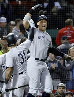 MLB》洋基264轟平大聯盟紀錄 搶下外卡賽主場優勢