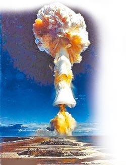 旺報社評》站上世界第3核武大國位置