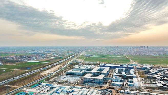 圖為雄安新區。(新華社資料照片)