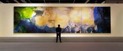 趙無極最大尺幅油畫 拍出逾19億天價