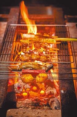 美福晴山日本料理 串燒烈火饗宴