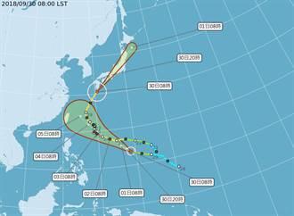 康芮走勢似潭美 周五恐成強颱最接近台灣