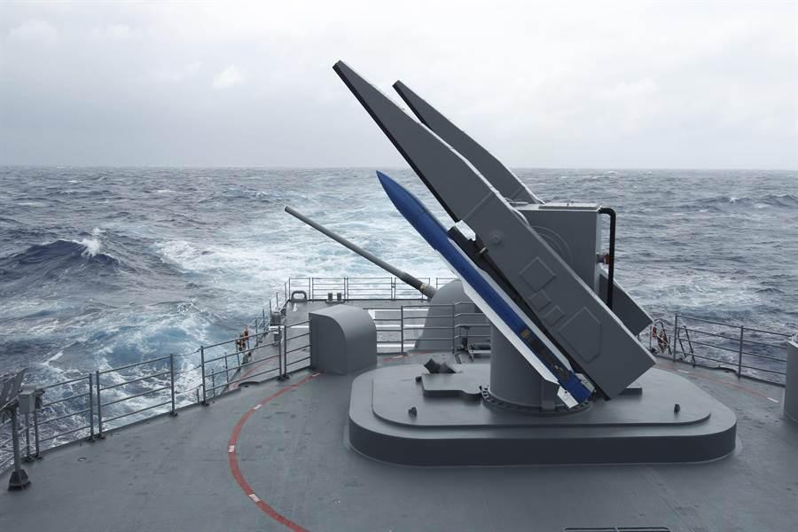 圖為台灣海軍在紀德艦上操作標準二型飛彈。(圖/美聯社)