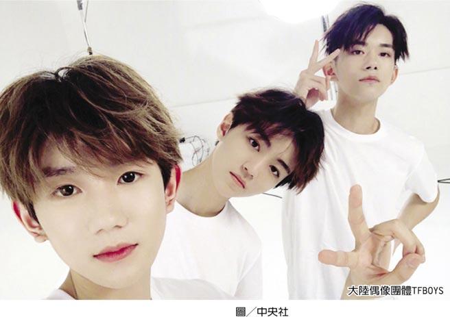 大陸偶像團體TFBOYS圖╱中央社