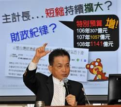 平均薪資近5萬遭質疑 主計長朱澤民:是「名目總薪資」