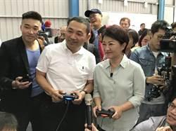 新北》盧秀燕拜訪侯友宜市民總部 「侯小宜」陪打卡