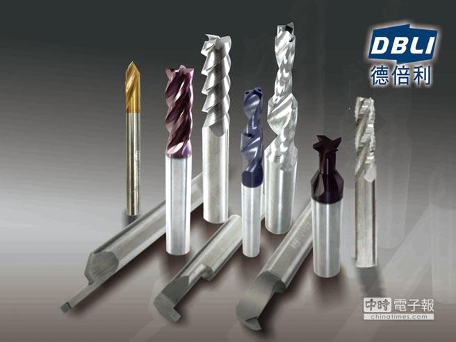 德倍利刀具是業界指定愛用,將於11月7日至11日TMTS台灣國際工具機展登場,攤位號碼4C246。圖/業者提供