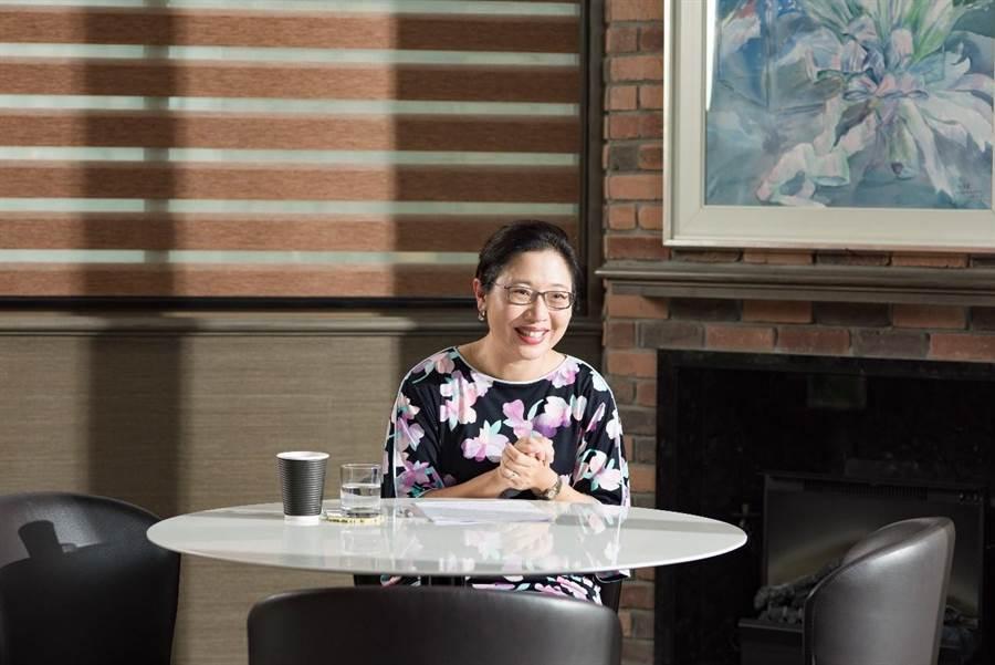 孔孟文化事業有限公司董事長趙文瑜表示:「KUMON教育強調個人別、恰恰好的學習、超越學年、自學自習、小階段前進的教材。」(圖/ 轉載自商業周刊)