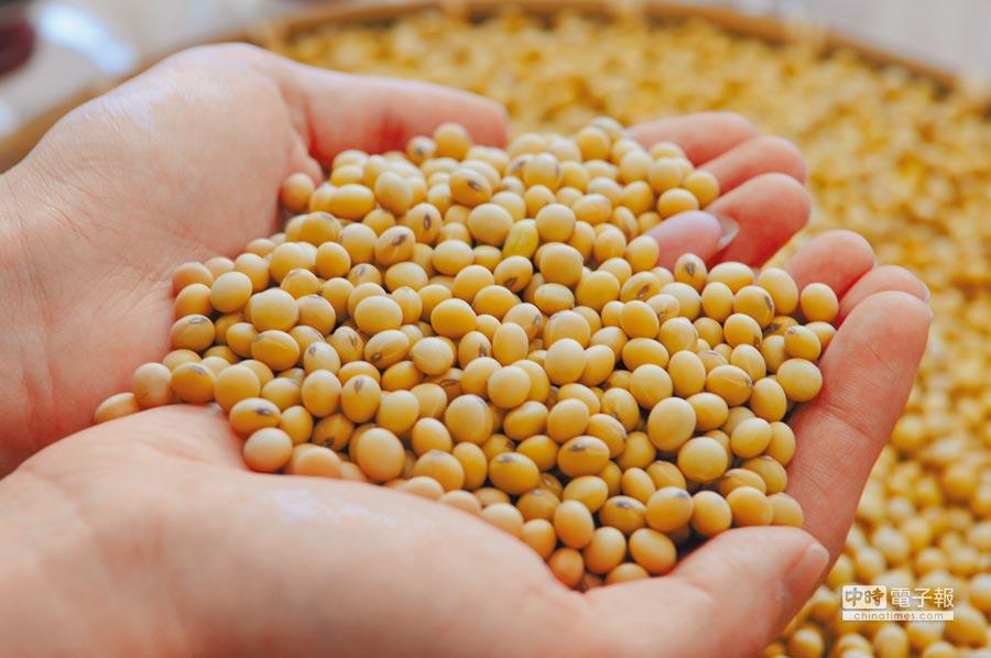 台灣增購美國大豆被指為交保護費。(本報系資料照片)