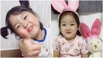 韓國超鬧小網紅「權律兒」逗趣經典表情 根本就是媽媽的玩具